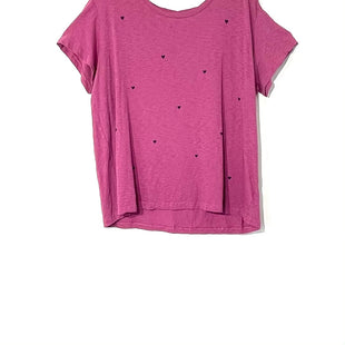 Primary Photo - BRAND: SUNDRY STYLE: TOP SHORT SLEEVE COLOR: PURPLE SIZE: L /3SKU: 262-26275-73219