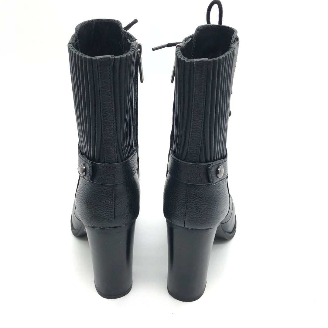 Photo #2 - BRAND: MICHAEL KORS <BR>STYLE: BOOTS ANKLE <BR>COLOR: BLACK <BR>SIZE: 7 <BR>SKU: 262-262101-2051<BR>IN GOOD SHAPE AND CONDITION