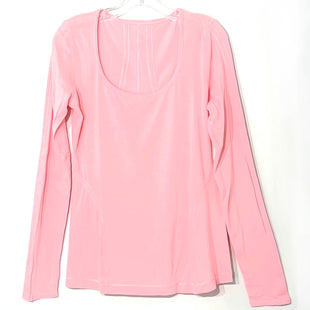 Primary Photo - BRAND: LULULEMON STYLE: ATHLETIC TOP COLOR: PINKSIZE: L SKU: 262-26275-78093SIZE TAG MISSING AS IS