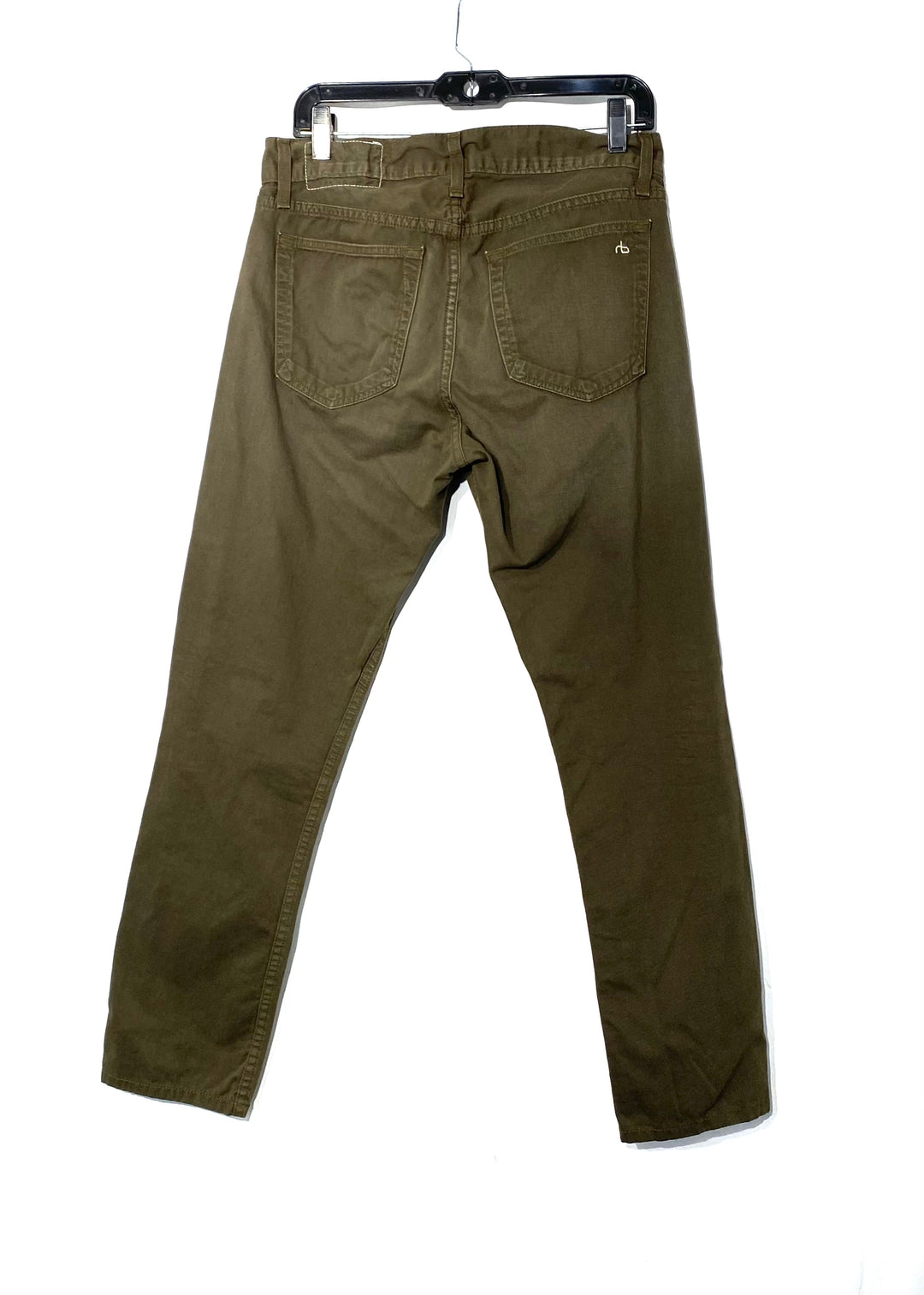Photo #1 - BRAND: RAG AND BONE <BR>STYLE: PANTS <BR>COLOR: OLIVE <BR>SIZE: 12/31<BR>SKU: 262-26275-68342