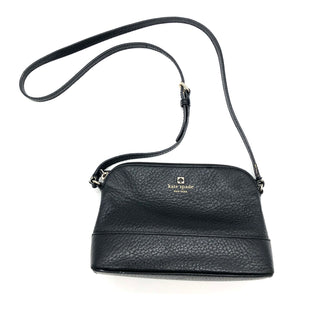"Primary Photo - BRAND: KATE SPADE STYLE: HANDBAG DESIGNER COLOR: BLACK SIZE: SMALL SKU: 262-26275-75190AS IS WEAR SHOWS DESIGNER BRAND FINAL SALE APPROX 9""X6""X3"""