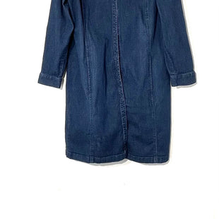 Primary Photo - BRAND: J JILL DENIMSTYLE: DRESS SHORT LONG SLEEVE COLOR: DENIM SIZE: L SKU: 262-26241-44376