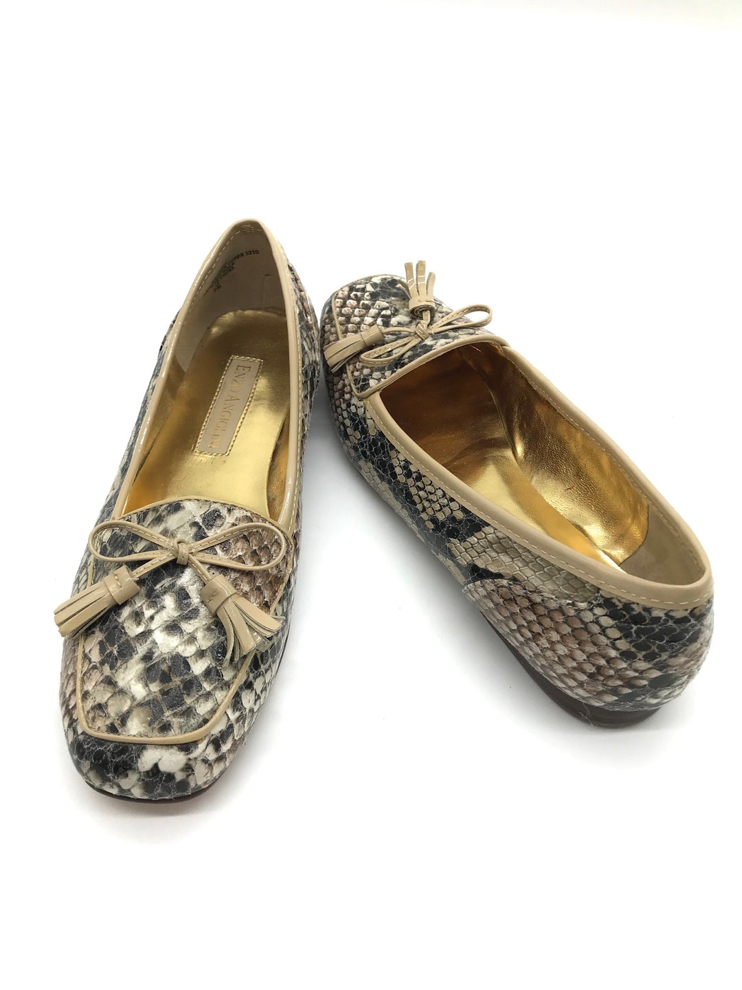 Photo #1 - BRAND: ENZO ANGIOLINI <BR>STYLE: SHOES FLATS <BR>COLOR: SNAKESKIN PRINT <BR>SIZE: 6 <BR>SKU: 262-26275-64519<BR>IN GOOD CONDITION - AS IS