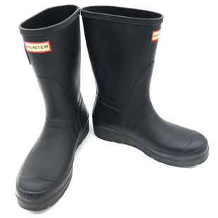 Primary Photo - BRAND: HUNTER STYLE: BOOTS RAIN COLOR: BLACK SIZE: 9 SKU: 262-26211-142041SOME SLIGHT SPOTS