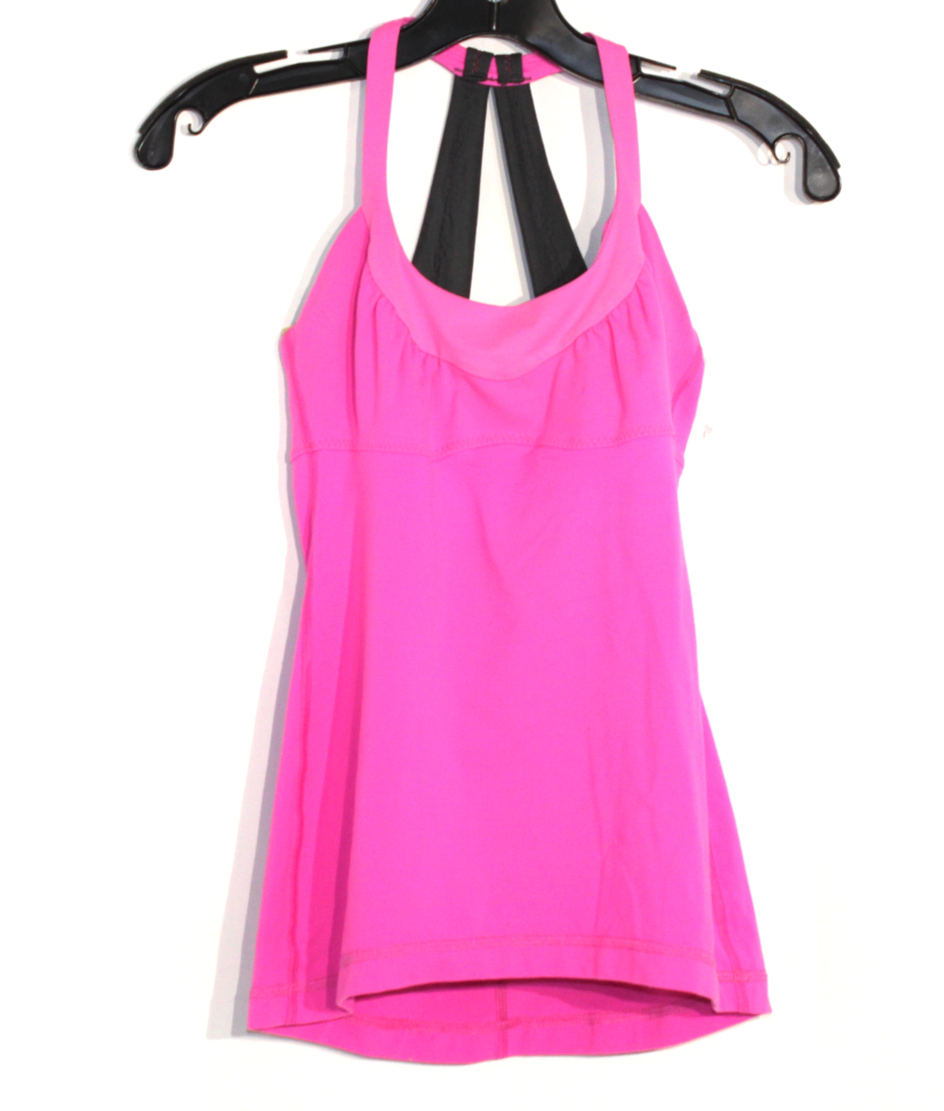 Primary Photo - BRAND: LULULEMON <BR>STYLE: ATHLETIC TANK TOP <BR>COLOR: PINK <BR>SIZE: S <BR>SKU: 262-262101-465<BR><BR>SIZE TAG MISSING AS <BR>GENTLE WEAR AS IS