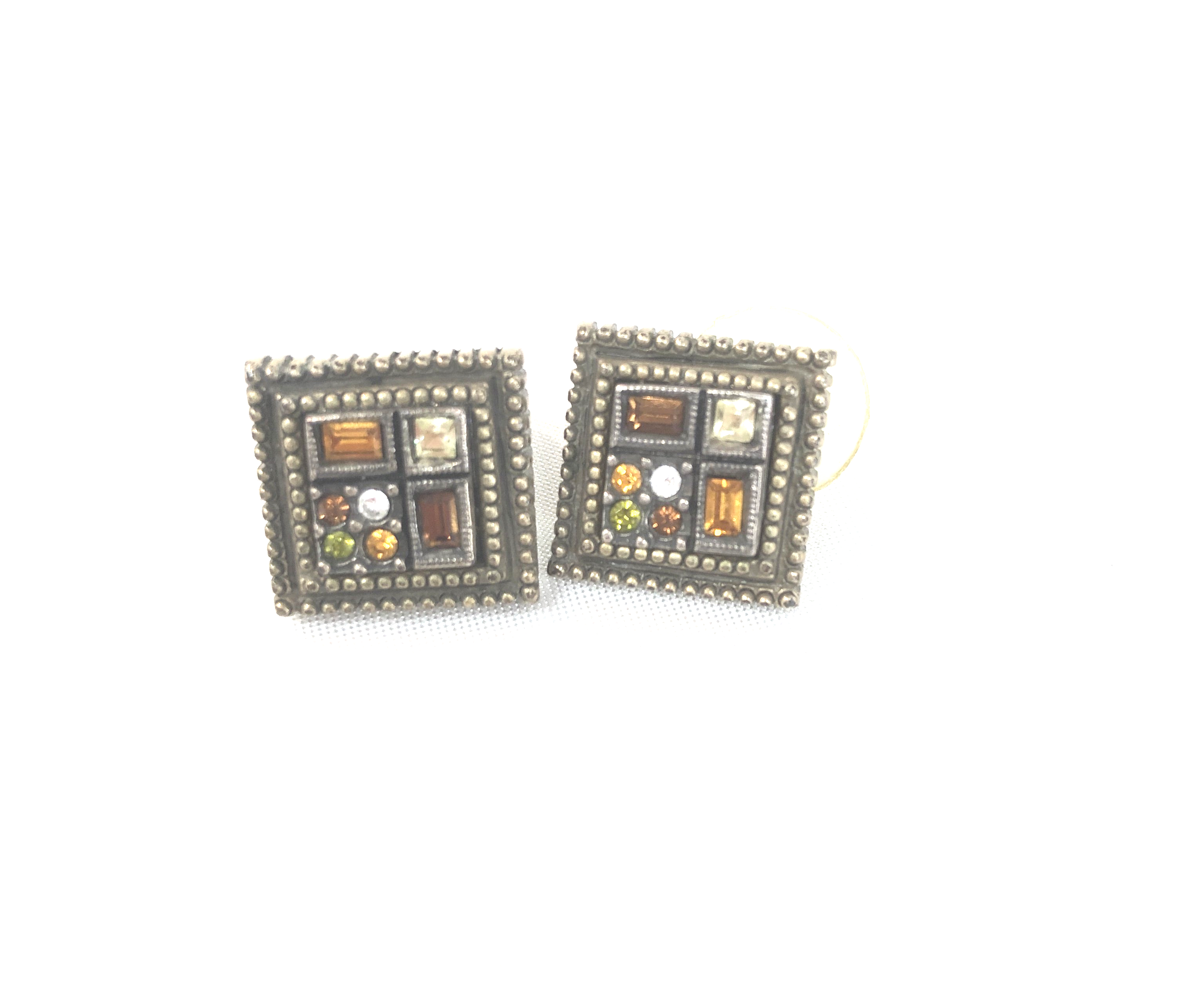 Earrings By Patricia Locke - <P>BRAND: PATRICIA LOCKE<BR>STYLE: EARRINGS <BR>COLOR: MULTI <BR>SKU: 262-26275-40372<BR>AS IS</P>