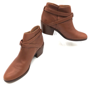 Primary Photo - BRAND: MADEWELL STYLE: BOOTS ANKLE COLOR: BROWN SIZE: 6 SKU: 262-26275-78368