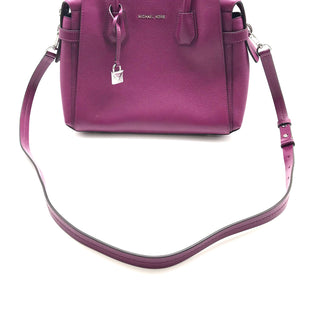 "Primary Photo - BRAND: MICHAEL KORS STYLE: HANDBAG DESIGNER COLOR: FUSCHIA SIZE: MEDIUM SKU: 262-26275-72038AS IS DESIGNER BRAND FINAL APPROX 12""X10""X5"""
