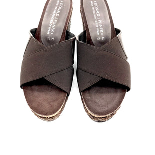 Primary Photo - BRAND: DONALD J PILNER STYLE: SANDALS LOW COLOR: BROWN SIZE: 6.5 SKU: 262-26275-63781IN GREAT SHAPE - AS IS