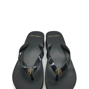 Primary Photo - BRAND: TORY BURCH STYLE: SANDALS LOW COLOR: BLACK SIZE: 8 SKU: 262-26241-42063GENTLE WEAR - AS IS DESIGNER BRAND - FINAL SALE