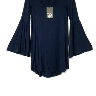 Primary Photo - BRAND: CHASER STYLE: DRESS SHORT LONG SLEEVE TUNICCOLOR: NAVY SIZE: XS SKU: 262-26275-73499