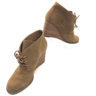Primary Photo - BRAND: LUCKY BRAND STYLE: BOOTS ANKLE COLOR: TAN SIZE: 7.5 SKU: 262-26275-75833MAY HAVE SOME SLIGHT WEAR