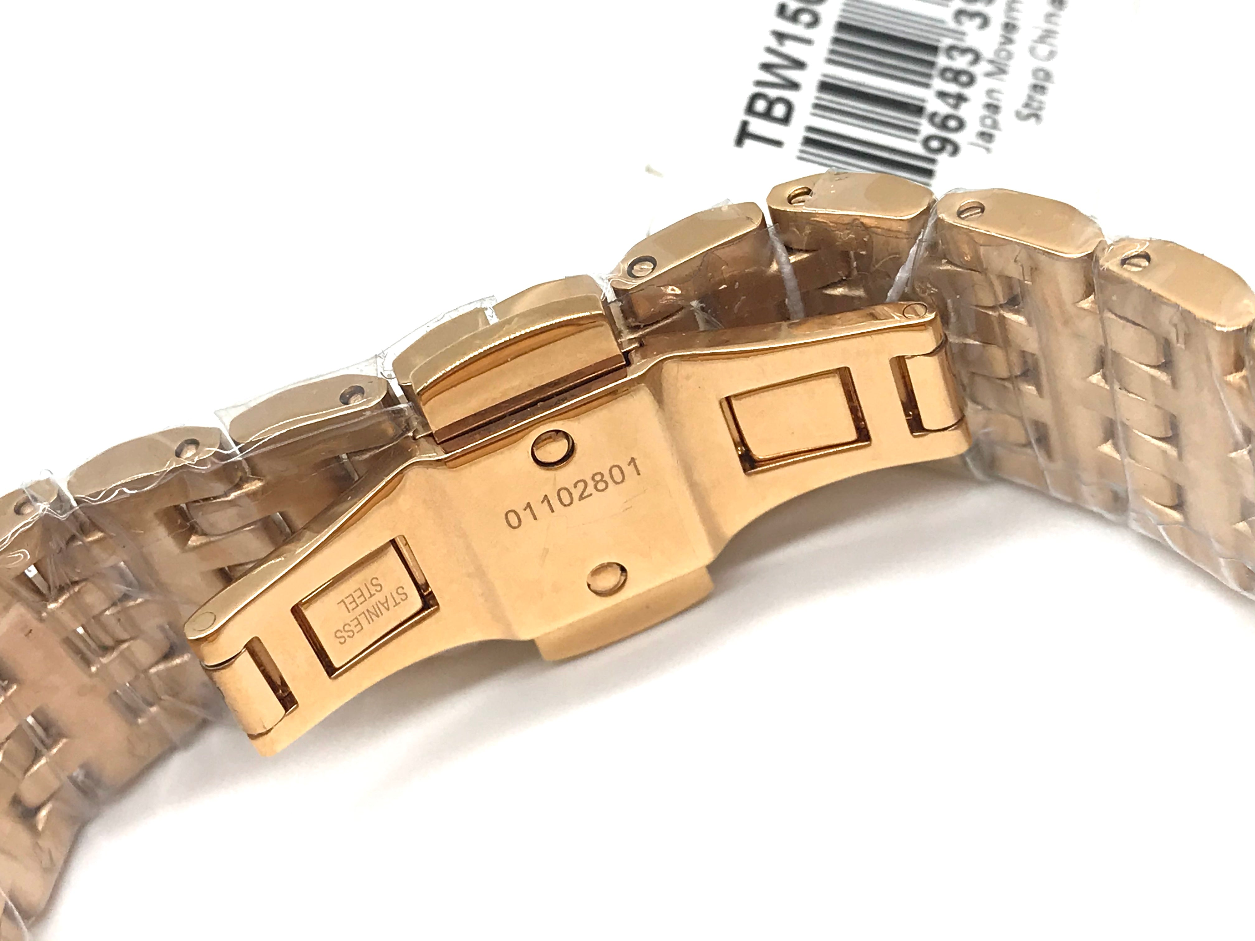 Photo #4 - BRAND: TORY BURCH <BR>STYLE: WATCH <BR>COLOR: GOLD <BR>SKU: 262-262100-172<BR>IN NEW AND WORKING CONDITION <BR>DESIGNER BRAND - FINAL SALE