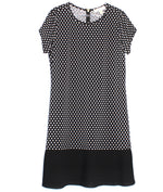 Primary Photo - BRAND: MICHAEL KORS <BR>STYLE: DRESS SHORT SHORT SLEEVE <BR>COLOR: BLACK WHITE <BR>SIZE: L <BR>SKU: 262-26298-471