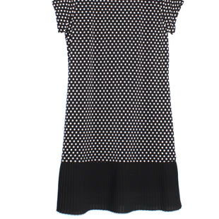 Primary Photo - BRAND: MICHAEL KORS STYLE: DRESS SHORT SHORT SLEEVE COLOR: BLACK WHITE SIZE: L SKU: 262-26298-471