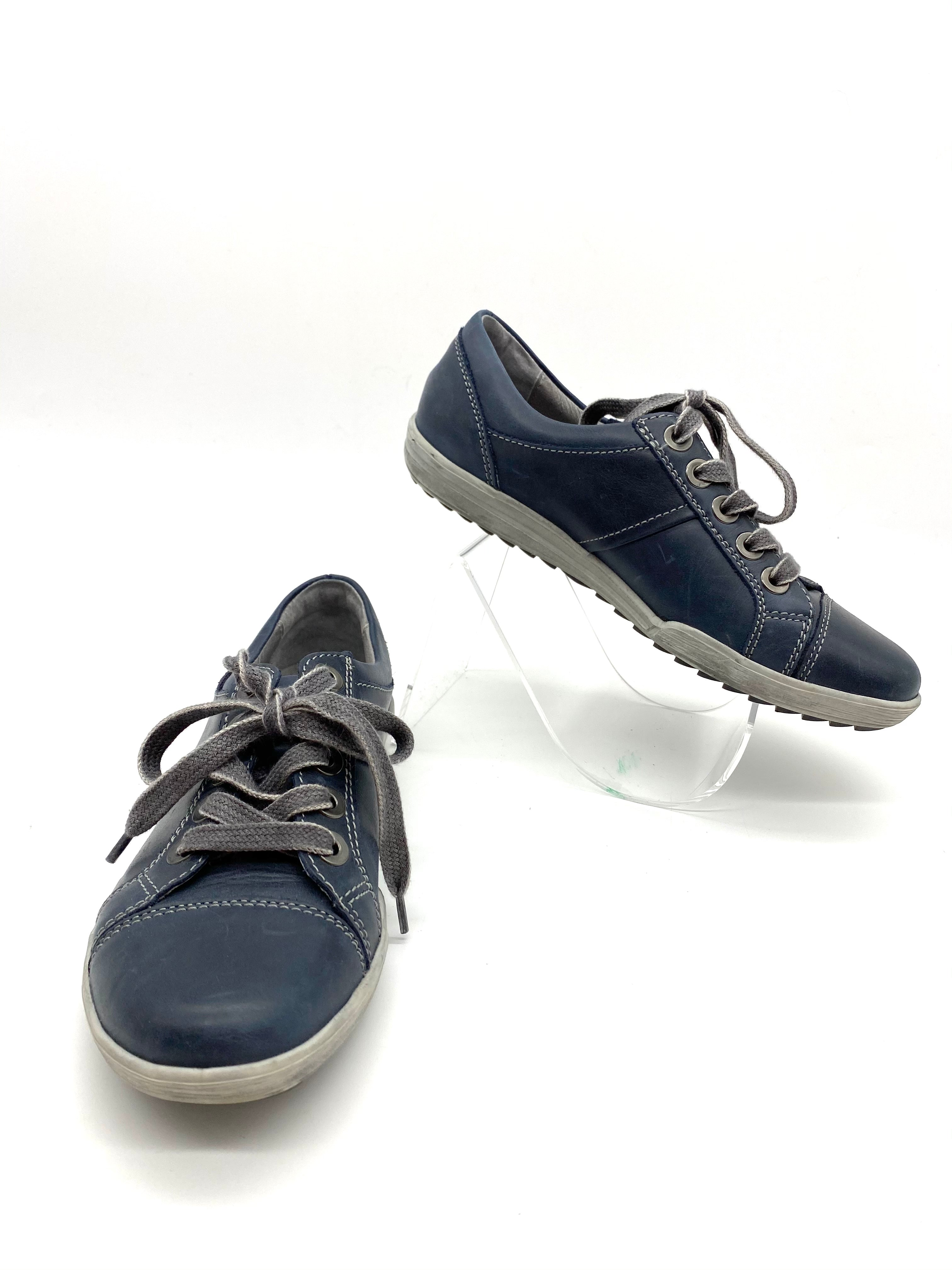 Primary Photo - BRAND: JOSEF SEIBEL <BR>STYLE: SHOES FLATS <BR>COLOR: SLATE BLUE <BR>SIZE: 6 /36<BR>SKU: 262-26241-42774