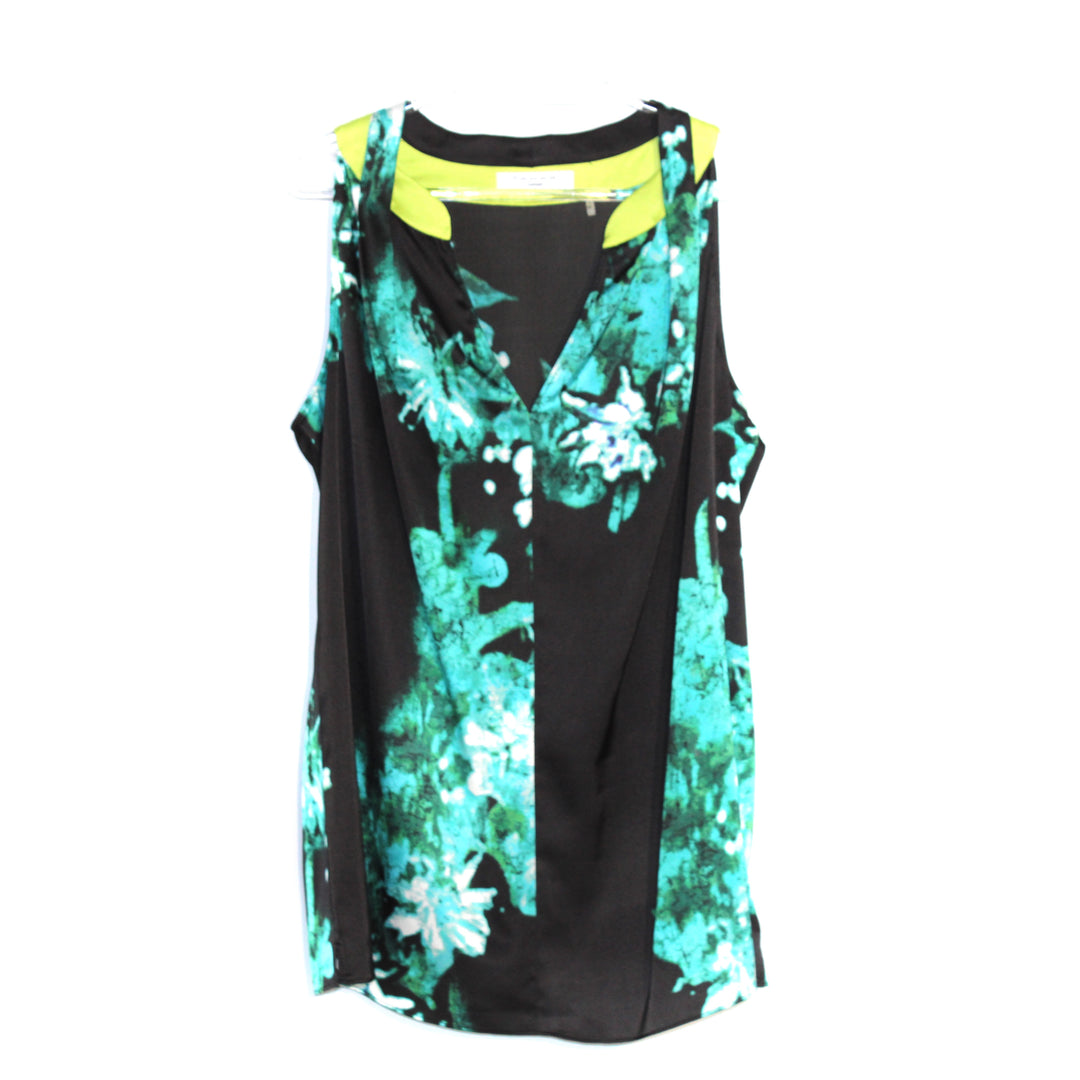 Primary Photo - BRAND: TAHARI <BR>STYLE: TOP SLEEVELESS <BR>COLOR: FLORAL <BR>SIZE: XL <BR>SKU: 262-26211-136633