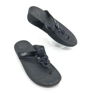Primary Photo - BRAND: FITFLOP STYLE: FLIP FLOPS COLOR: BLACK SIZE: 8 SKU: 262-26275-64405WEAR SHOWS - AS IS