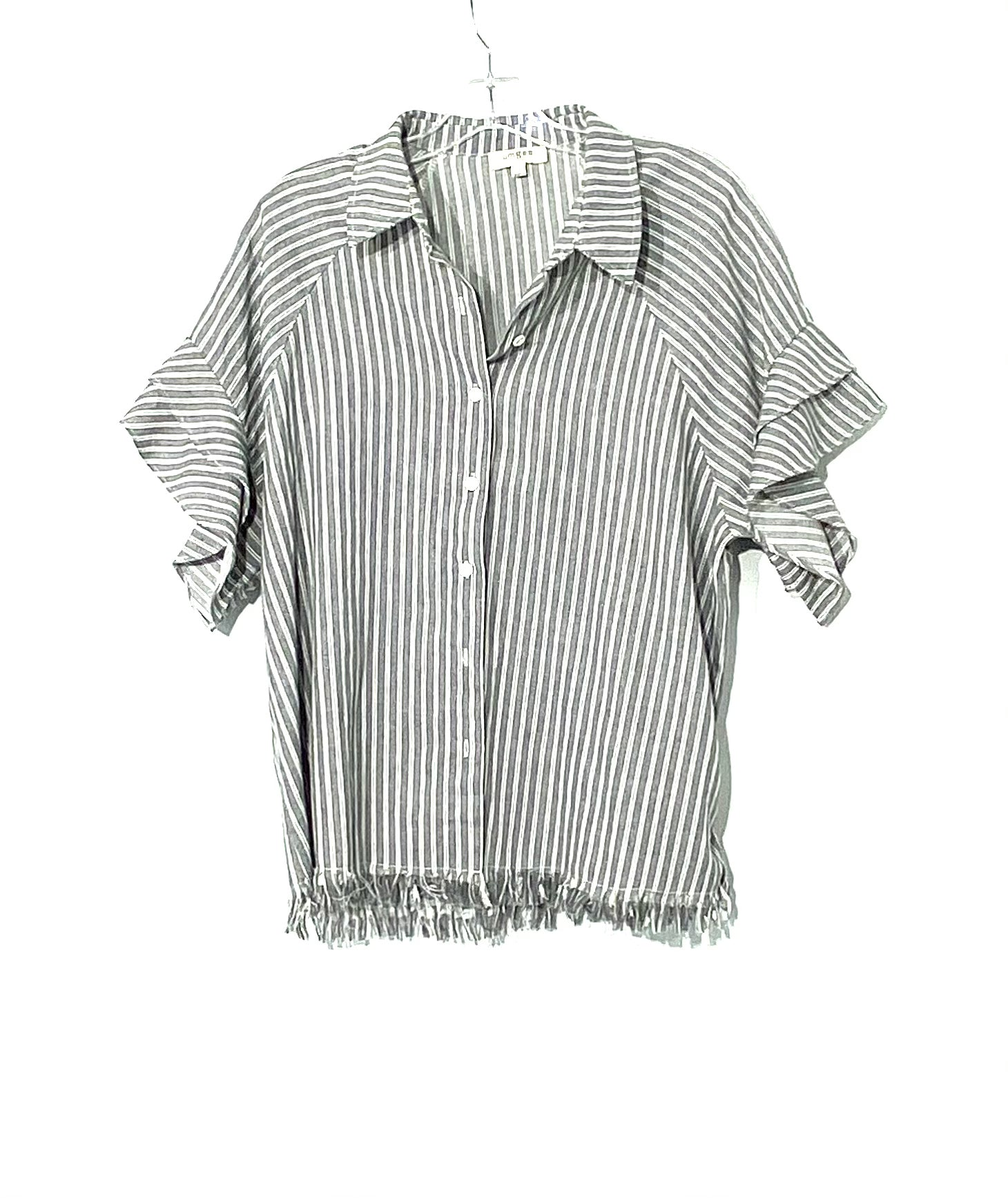 Primary Photo - BRAND: UMGEE <BR>STYLE: TOP SHORT SLEEVE <BR>COLOR: STRIPED <BR>SIZE: S <BR>SKU: 262-26275-62101