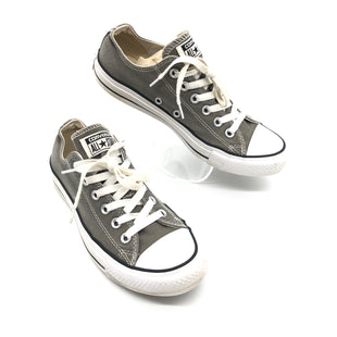 Primary Photo - BRAND: CONVERSE STYLE: SHOES ATHLETIC COLOR: GREY WHITE SIZE: 8.5 SKU: 262-26275-77174GENTLE WEAR - AS IS