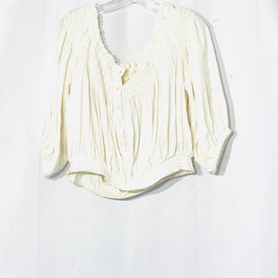 Primary Photo - BRAND: WE THE FREE STYLE: TOP 1/2 LONG SLEEVE COLOR: WHITE SIZE: M SKU: 262-26211-141161