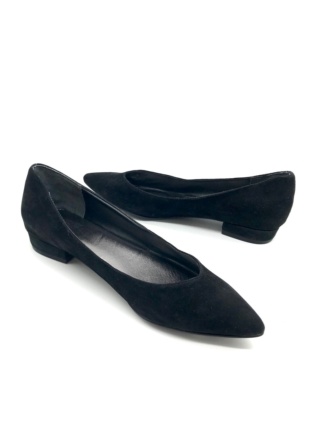Photo #2 - BRAND:    CLOTHES MENTOR <BR>STYLE: SHOES FLATS <BR>COLOR: BLACK <BR>SIZE: 7.5 <BR>OTHER INFO: BLEECKER BOND - <BR>SKU: 262-26275-64067<BR>AS IS