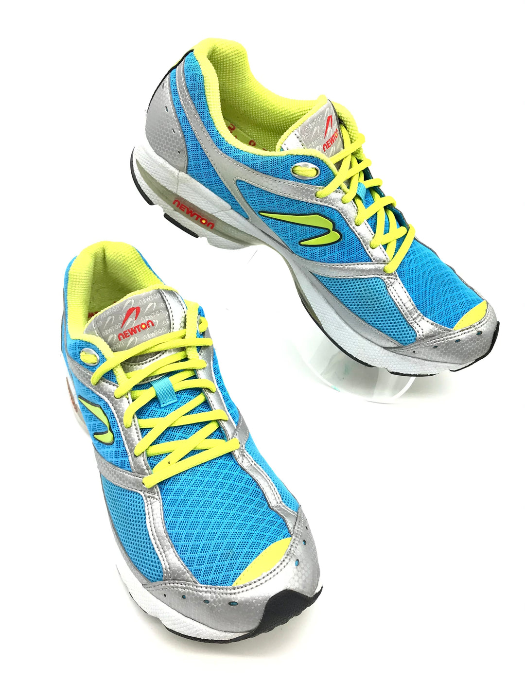 Primary Photo - BRAND:  NEWTON<BR>STYLE: SHOES ATHLETIC <BR>COLOR: BLUE YELLOW <BR>SIZE: 9 <BR>SKU: 262-26275-71113<BR>GENTLE WEAR - AS IS