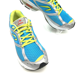 Primary Photo - BRAND:  NEWTONSTYLE: SHOES ATHLETIC COLOR: BLUE YELLOW SIZE: 9 SKU: 262-26275-71113GENTLE WEAR - AS IS