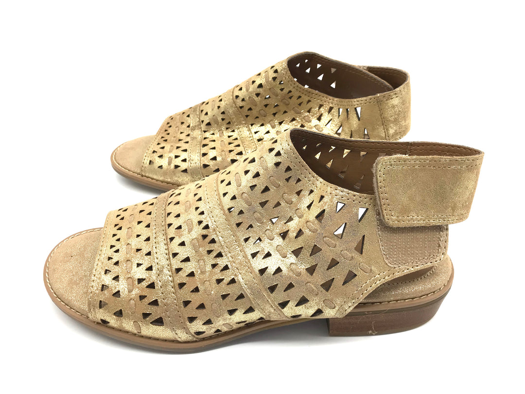 Photo #3 - BRAND: SOFFT <BR>STYLE: SANDALS FLAT <BR>COLOR: GOLD <BR>SIZE: 8 <BR>SKU: 262-26275-64339