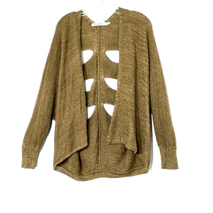 Primary Photo - BRAND:    MAGS & PYESTYLE: SWEATER CARDIGAN LIGHTWEIGHT COLOR: METALLIC SIZE: S OTHER INFO: SKU: 262-26275-73524