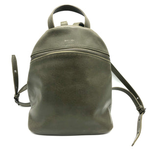 "Primary Photo - BRAND: MATT AND NAT STYLE: BACKPACK COLOR: OLIVE SIZE: SMALL SKU: 262-26275-78199APPROX. 13.5""L X 13.5""H X 5.25""D. SOME SLIGHT WEAR"