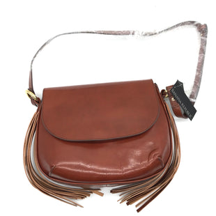 "Primary Photo - BRAND: BANANA REPUBLIC STYLE: HANDBAG COLOR: BROWN SIZE: MEDIUM SKU: 262-26275-68094APPROX. 10""L X 7.5""H."