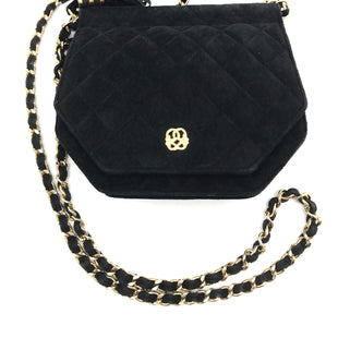 "Primary Photo - BRAND:    MARY ANN ROSENFELD STYLE: HANDBAG COLOR: BLACK SIZE: SMALL SKU: 262-26275-68137GENUINE LEATHER. APPROX. 8""L X 6""H. SOME SLIGHT SIGNS OF WEAR/RUBBING"