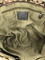 "Photo #5 - BRAND: COACH<BR>STYLE: HANDBAG DESIGNER <BR>COLOR: GOLD <BR>SIZE: LARGE 13""H X 17""L X 2.75""W<BR>STRAP DROP: 9""<BR>SKU: 262-26275-51069<BR>WEAR SHOWS • VISIBLE STAINS ON THE INTERIOR LININGS • AS IS"