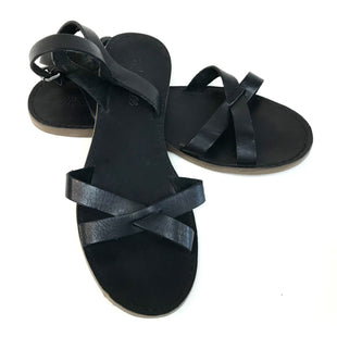 Primary Photo - BRAND: MADEWELL STYLE: SANDALS FLAT COLOR: BLACK SIZE: 8 SKU: 262-26275-60970