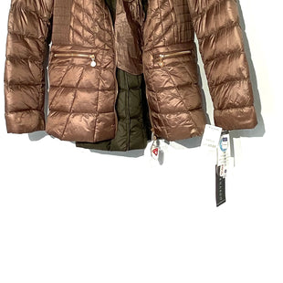 Primary Photo - BRAND: BERNARDO STYLE: JACKET OUTDOOR COLOR: BROWN SIZE: L /42SKU: 262-26275-70654FILLER 100% DOWN & FEATHERS DESIGNER FINAL
