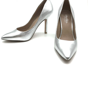 Primary Photo - BRAND: CHARLES BY CHARLES DAVID STYLE: SHOES LOW HEEL COLOR: SILVER SIZE: 7.5 SKU: 262-26275-60349AS IS SLIGHT WEAR TO THE HEELS