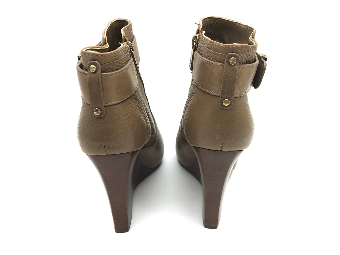 Photo #3 - BRAND: TORY BURCH <BR>STYLE: BOOTS ANKLE <BR>COLOR: BROWN <BR>SIZE: 9 <BR>SKU: 262-262101-1427<BR><BR>ELINA BOOTIE