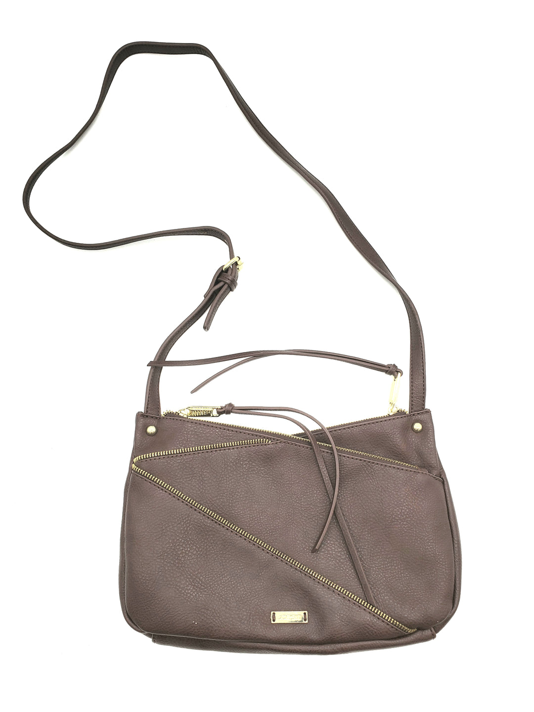 Primary Photo - BRAND: JOES JEANS <BR>STYLE: HANDBAG <BR>COLOR: BROWN <BR>SIZE: SMALL <BR>SKU: 262-26275-67904<BR>AS IS <BR>APPROX 12
