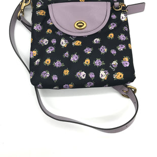 "Primary Photo - BRAND: COACH STYLE: HANDBAG DESIGNER COLOR: FLORAL SIZE: SMALL SKU: 262-26241-437172020. APPROX. 9""L X 8""H X 1.75""D. GOOD OVERALL CONDITION BUT PRICE MAY REFLECT SLIGHT SCENT"