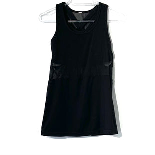Primary Photo - BRAND: LULULEMON STYLE: ATHLETIC TANK TOP COLOR: BLACK SIZE: 4 SKU: 262-26275-74394