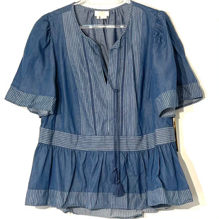 Primary Photo - BRAND: KATE SPADE STYLE: TOP SHORT SLEEVE COLOR: DENIM BLUE SIZE: M SKU: 262-26211-142248