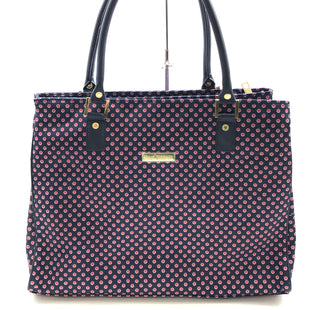 "Primary Photo - BRAND: ISAAC MIZRAHI STYLE: HANDBAG COLOR: POLKADOT SIZE: LARGE SKU: 262-26241-44771APPROX. 18""L X 13.5""H X 6""D"