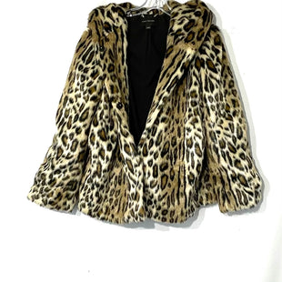Primary Photo - BRAND: ANN TAYLOR STYLE: JACKET OUTDOOR COLOR: ANIMAL PRINT SIZE: L SKU: 262-26241-44402