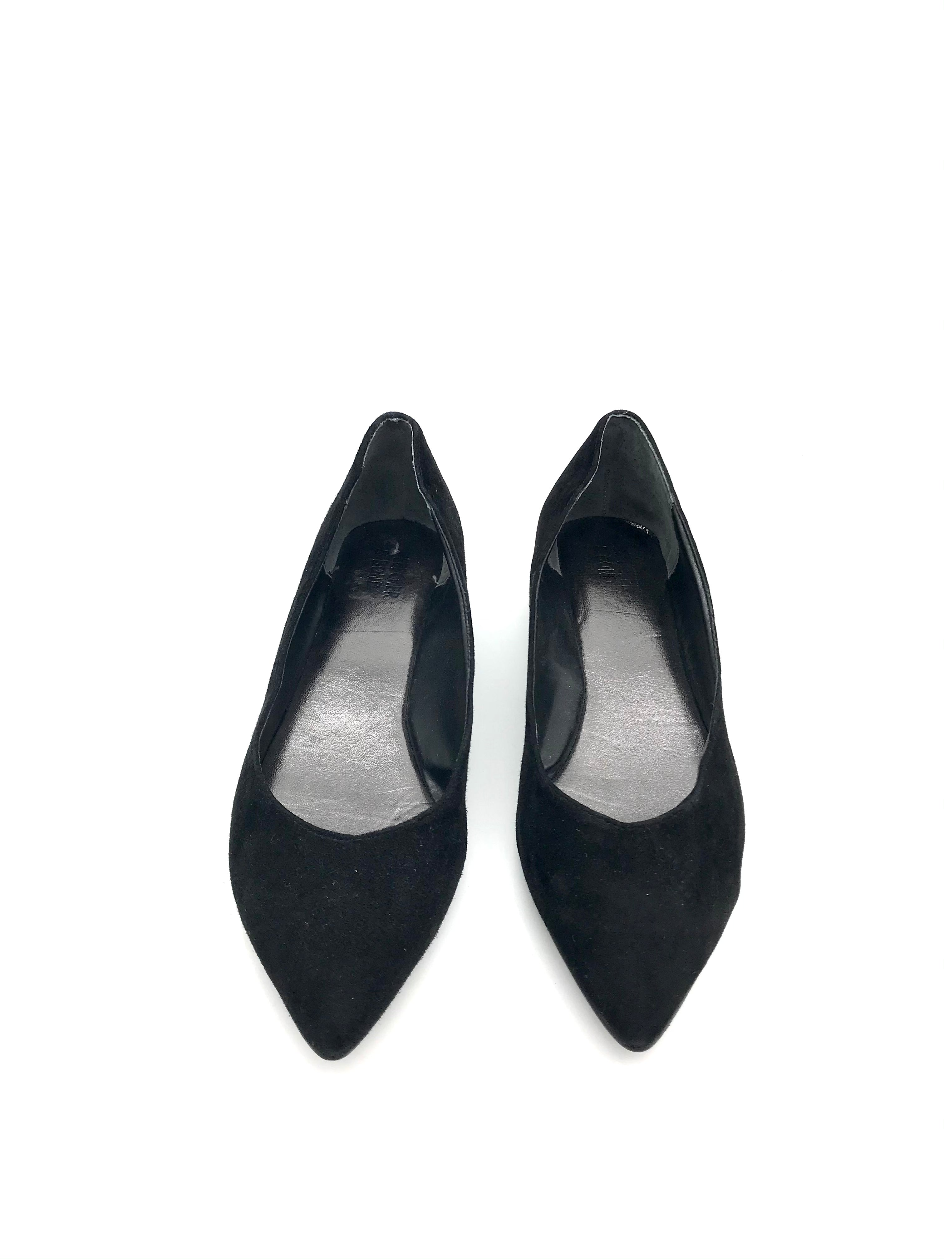 Primary Photo - BRAND:    CLOTHES MENTOR <BR>STYLE: SHOES FLATS <BR>COLOR: BLACK <BR>SIZE: 7.5 <BR>OTHER INFO: BLEECKER BOND - <BR>SKU: 262-26275-64067<BR>AS IS