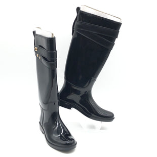 Primary Photo - BRAND: COACH STYLE: BOOTS RAIN COLOR: BLACK SIZE: 7 SKU: 262-26275-77182IN GREAT SHAPE AND CONDITION