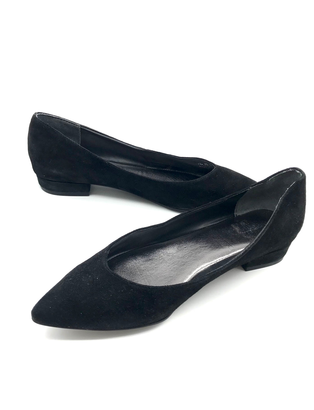 Photo #3 - BRAND:    CLOTHES MENTOR <BR>STYLE: SHOES FLATS <BR>COLOR: BLACK <BR>SIZE: 7.5 <BR>OTHER INFO: BLEECKER BOND - <BR>SKU: 262-26275-64067<BR>AS IS