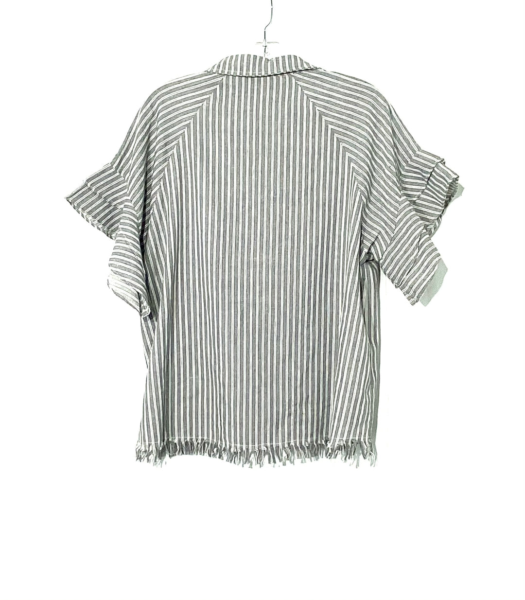 Photo #1 - BRAND: UMGEE <BR>STYLE: TOP SHORT SLEEVE <BR>COLOR: STRIPED <BR>SIZE: S <BR>SKU: 262-26275-62101