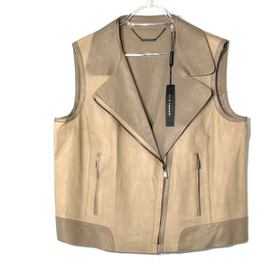 Primary Photo - BRAND: ELIE TAHARI STYLE: LEATHER VEST COLOR: LEATHER SIZE: XL SKU: 262-26275-74570KATIE VEST