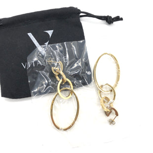 Primary Photo - BRAND:  VITA FEDESTYLE: EARRINGS COLOR: GOLD SKU: 262-26211-142892STILL SEALED WITH POUCH •
